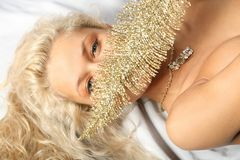 Gold dream Stock Photography