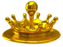 Gold drop Royalty Free Stock Images