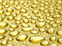 Gold Drops Stock Photo