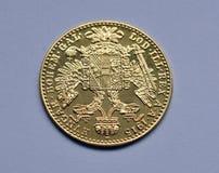 Gold ducats of Austria-Hungary Royalty Free Stock Photos