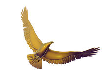 Gold Eagle Royalty Free Stock Photo