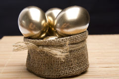 Gold Easter Royalty Free Stock Photo