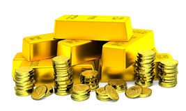 Gold Ecstasy Stock Images