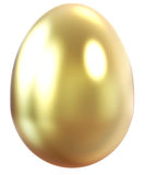 Gold egg. Stock Photo
