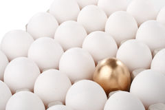 Gold egg Royalty Free Stock Photo