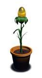 Gold_egg_plant Royalty Free Stock Image