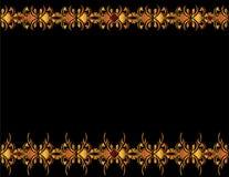 Gold elegant background 4 Stock Images
