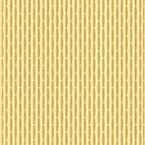Gold elongated hexagon pattern Stock Photos