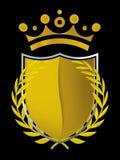 Gold emblem (vector) Royalty Free Stock Photos