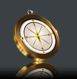 Gold(en) compass Royalty Free Stock Photography