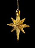 Gold(en) Star On Royalty Free Stock Photo