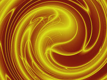 Gold Energy Background Stock Photography