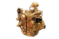Gold engine Stock Images