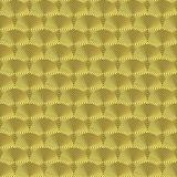Gold Engine Turned. Seamless Texture Tile Royalty Free Stock Photo