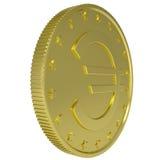 Gold euro Royalty Free Stock Photos