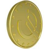 Gold euro Stock Image