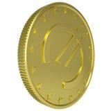 Gold euro Stock Photo