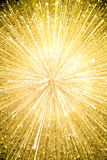 Gold explosion background Royalty Free Stock Photography