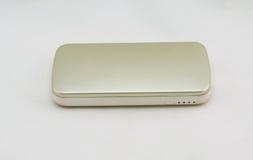 Gold external battery Stock Images