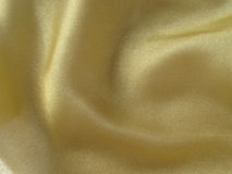 Gold fabric Royalty Free Stock Photography