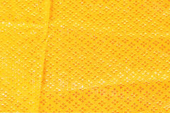 Gold fabric silk for background Stock Image
