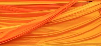 Gold fabric silk texture Stock Photo