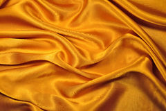 Gold fabric Stock Images