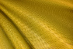 Gold Fabric Texture Royalty Free Stock Photos