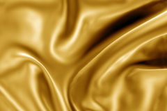 Gold fabric texture Royalty Free Stock Images