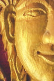 Gold Face Buddha Stock Photography