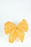 Gold farbiger Bogen. Lizenzfreies Stockfoto