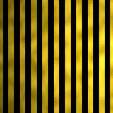 Gold Faux Foil Black Metallic Stripes Background Striped Royalty Free Stock Photo