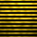 Gold Faux Foil Black Metallic Stripes Background Striped Stock Photos