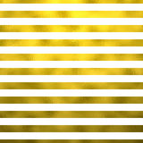 Gold Faux Foil Metallic Horizontal Stripes White Background Royalty Free Stock Photo