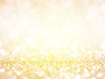 Gold Festive Christmas background. Stock Photography