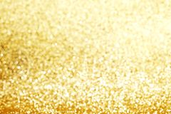 Gold Festive Christmas background Royalty Free Stock Photo