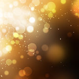 Gold Festive Christmas background Royalty Free Stock Image