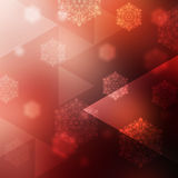 Gold Festive Christmas background. With shiny effect Stock Image