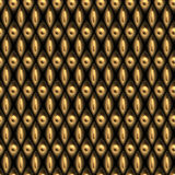Gold fiction (Seamless texture) Stock Photo