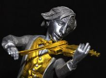 Gold Fiddler Royalty Free Stock Photography