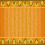 Gold fire card board texture. For note or congratulate Stock Image