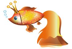 Gold fish. Stock Images