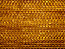 Gold fish. Pattern Stock Photo