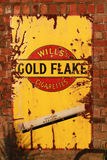Gold Flake advert Royalty Free Stock Images