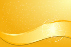Gold Flare. Vector illustration of Gold Flare Royalty Free Stock Image