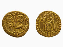 Gold Florin, Florence Royalty Free Stock Photo