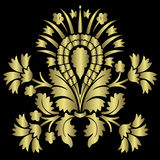 Gold Flower Royalty Free Stock Image