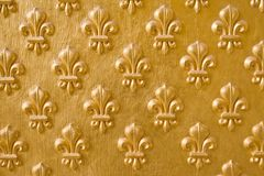 Gold flower background Royalty Free Stock Photo