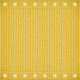 Gold flower card board texture Royalty Free Stock Image