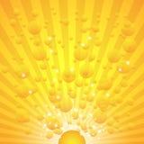 Gold flower Stock Photos